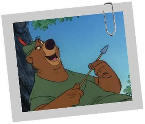 Dessin animé Disney ROBIN DES BOIS