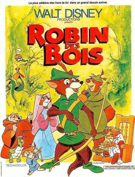 Dessin anime Walt Disney ROBIN DES BOIS
