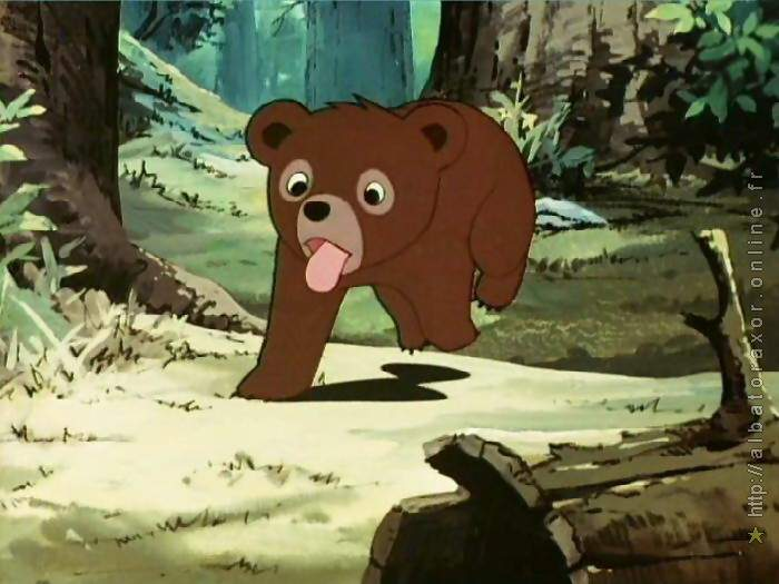 Dessin Anime Tele Bouba Le Petit Ourson