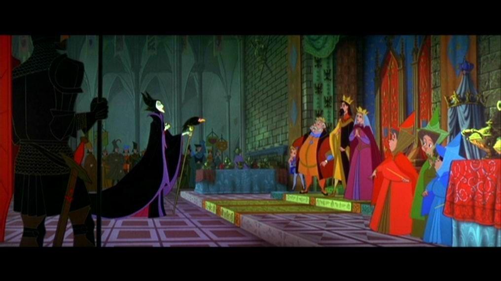 Dessin animé Walt Disney LA BELLE AU BOIS DORMANT