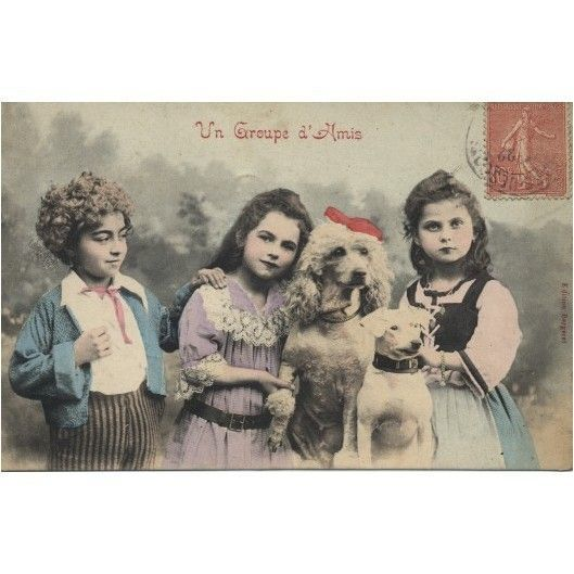 Cartes postales anciennes enfants