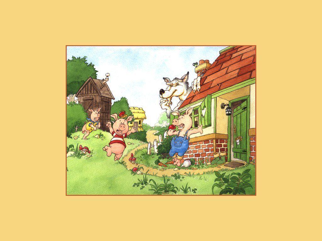 Histoire à raconter aux enfants : Les Trois Petits Cochons