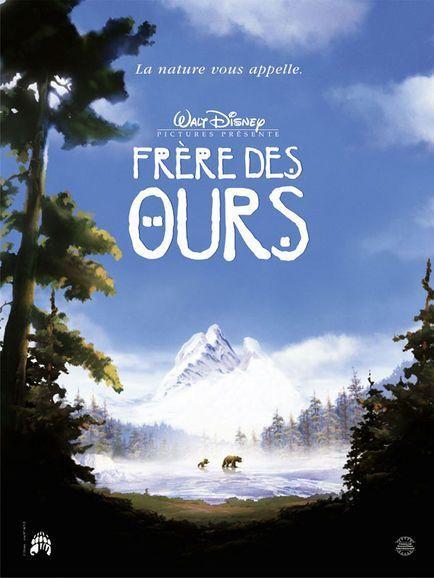Dessin animé Disney FRERES DES OURS