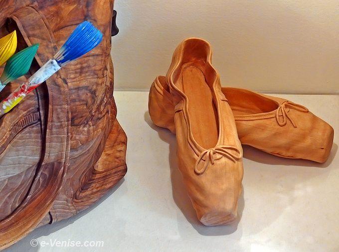 Sculptures sur bois de LIVIO DE MARCHI