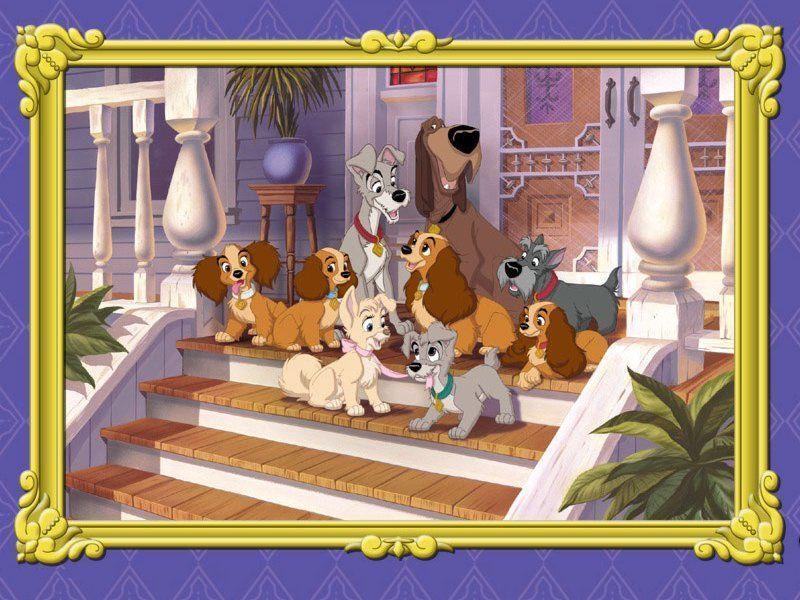 Dessin anime Walt Disney LA BELLE ET LE CLOCHARD - Page 2