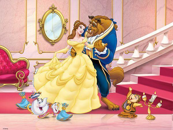 D a walt disney la belle et la bete - Princesse de walt disney ...