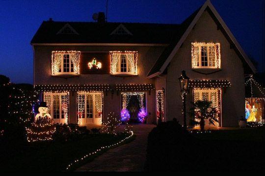 Noel maisons illuminees page 4 - Decoration de noel exterieur lumineuse ...