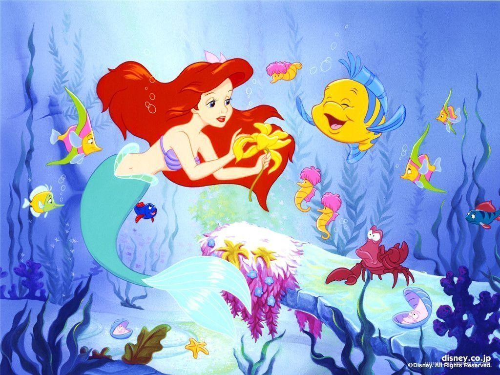 Dessin anime walt disney la petite sirene page 2 - Dessin anime princesse ariel ...