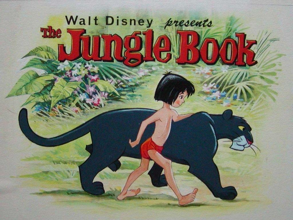 Dessin animé le livre de la jungle