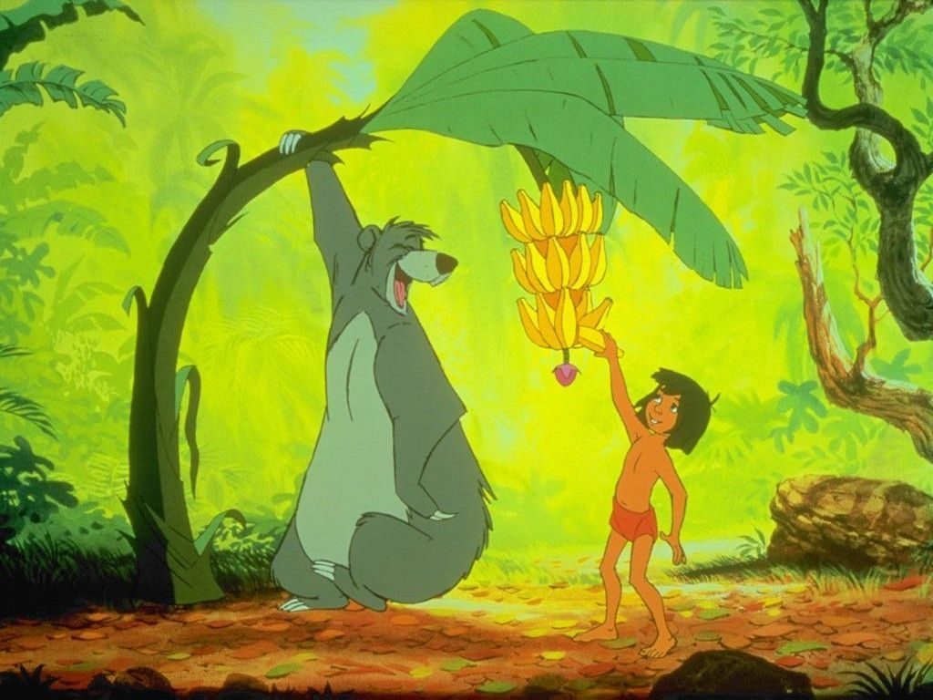 Dessin anime walt disney le livre de la jungle - Dessin de jungle ...