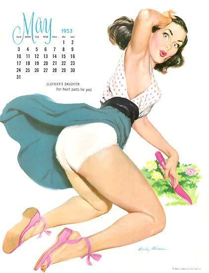Pin Up ... Uanth58d