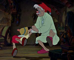 Dessin animé Disney PINOCCHIO