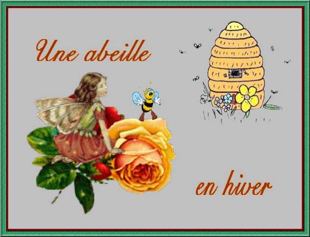 Histoire à raconter aux enfants : Une abeille en hiver
